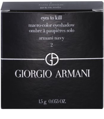 Armani Eyes To Kill Mono sombra de ojos 2