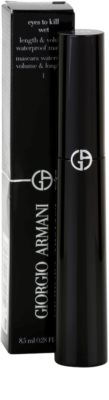Armani Eyes To Kill Wet maskara za volumen vodoodporna 2