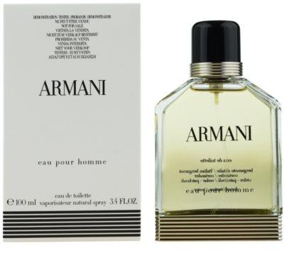 Armani Eau Pour Homme (2013) тоалетна вода тестер за мъже 2