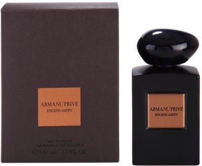 Armani Prive Encens Satin Eau De Parfum unisex