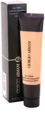 Armani Face Fabric make up pentru machiaj nud 1