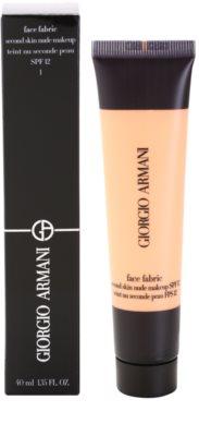 Armani Face Fabric make up pentru machiaj nud 2