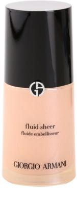 Armani Fluid Sheer make-up pentru luminozitate