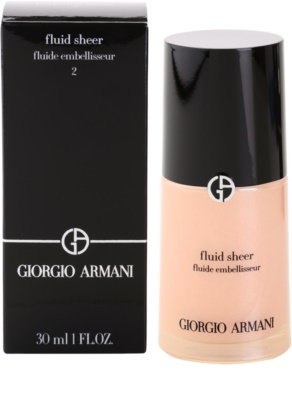 Armani Fluid Sheer rozjasňující make-up 3