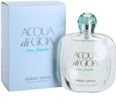 Armani Acqua di Gioia Eau Fraiche toaletní voda pro ženy 1