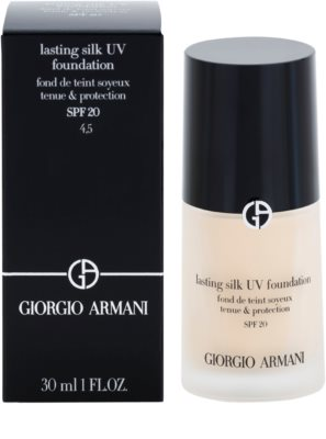Armani Lasting Silk UV langanhaltendes Make-up SPF 20 2