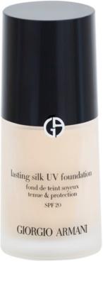 Armani Lasting Silk UV dolgoobstojen tekoči puder SPF 20