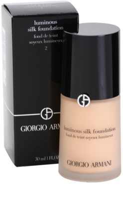 Armani Luminous Silk Foundation maquillaje líquido 2