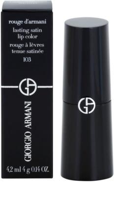 Armani Rouge D'Armani dolgoobstojna šminka 3