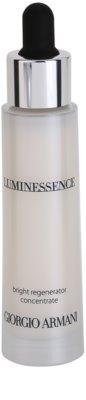 Armani Luminessence rozświetlające serum do twarzy przeciw zmarszczkom