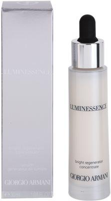 Armani Luminessence озаряващ серум за лице против бръчки 2