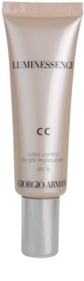 Armani Luminessence CC rozświetlający krem CC
