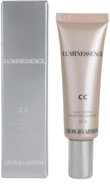 Armani Luminessence CC rozświetlający krem CC 2