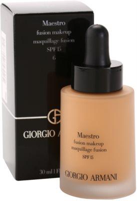 Armani Maestro lehký make-up 1