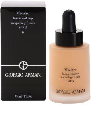 Armani Maestro lehký make-up 2