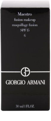 Armani Maestro lehký make-up 3
