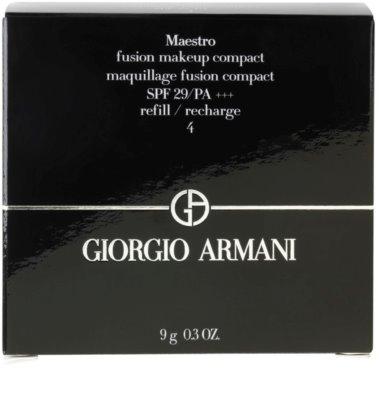 Armani Maestro компактен грим  пълнител 2