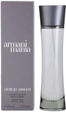 Armani Mania for Men toaletna voda za moške