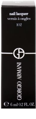 Armani Nail Lacquer esmalte de uñas 3