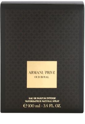 Armani Prive Oud Royal Eau de Parfum unissexo 4