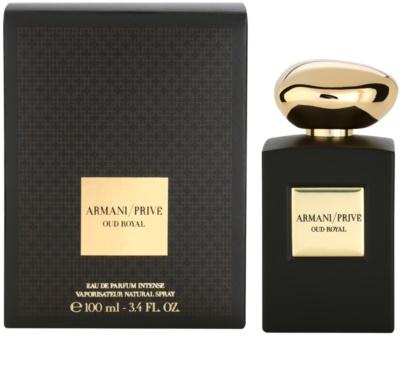 Armani Prive Oud Royal Eau De Parfum unisex