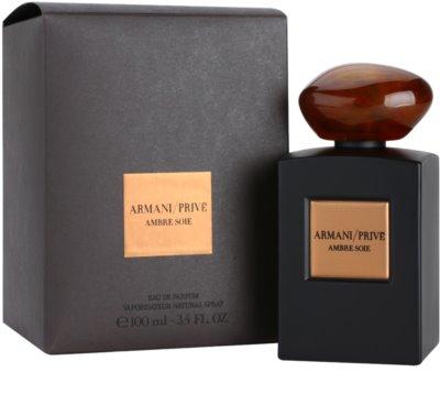 Armani Prive Ambre Soie Eau de Parfum unissexo 1