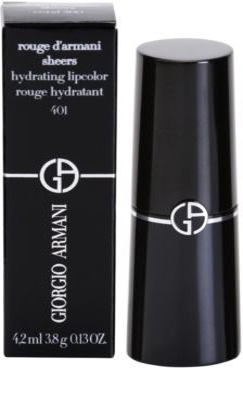 Armani Rouge D´Armani Sheers hidratáló rúzs 2