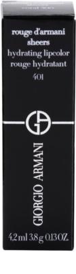 Armani Rouge D´Armani Sheers hidratáló rúzs 4
