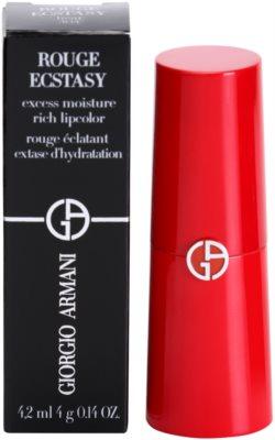Armani Rouge Ecstasy hydratační rtěnka 3
