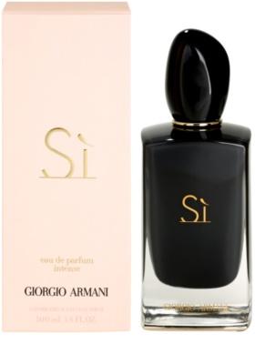 Armani Si Intense Eau de Parfum para mulheres