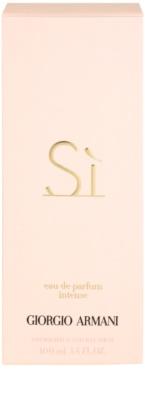 Armani Si Intense Eau de Parfum für Damen 4