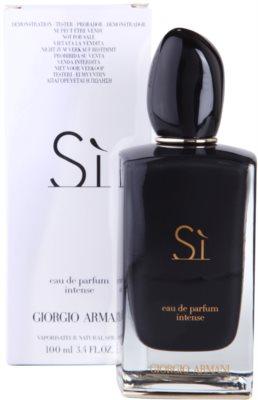 Armani Si Intense парфумована вода тестер для жінок 2