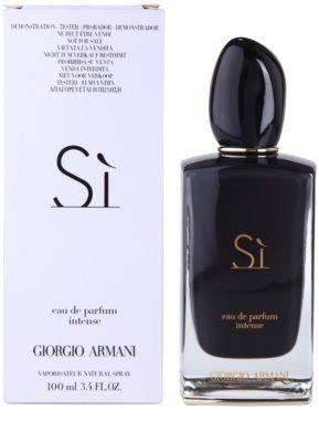 Armani Si Intense парфумована вода тестер для жінок 3