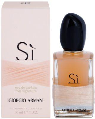 Armani Si Rose Signature Eau de Parfum für Damen