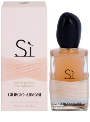 Armani Si Rose Signature parfémovaná voda pro ženy