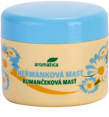 Aromatica Body Care pomada de manzanilla para calmar la piel