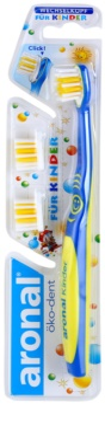 Aronal Kids zobna ščetka za otroke + 2 nadomestni britvici