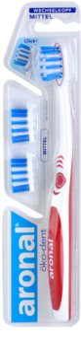 Aronal Dental Care zobna ščetka + 2 nadomestni glavi medium