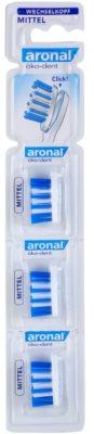 Aronal Dental Care 3 cabeças de substituição para escova de dentes