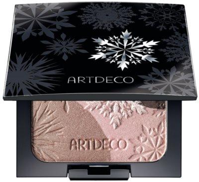 Artdeco Artic Beauty rozjasňovač a oční stíny 2 v 1 1