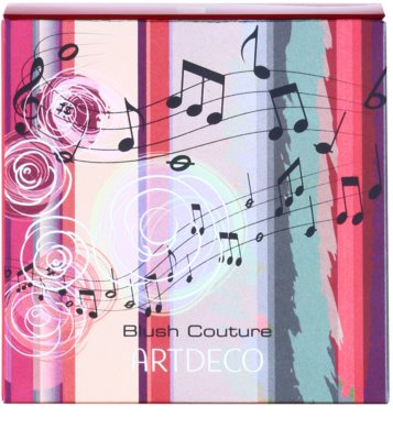 Artdeco The Sound of Beauty Blush Couture tvářenka 2