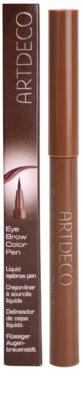 Artdeco Eye Brow Color Pen marcador de sobrancelhas 3