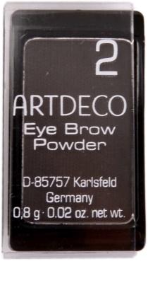 Artdeco Eye Brow Powder Puder für die Augenbrauen 1