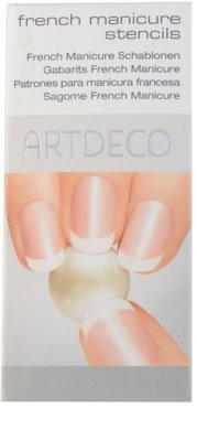 Artdeco French Manicure Schablonen für die französische Maniküre
