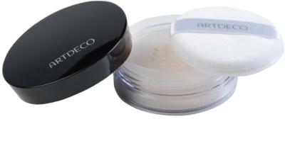 Artdeco Fixing Powder Transparenter Puder mit einem  Applikator 2
