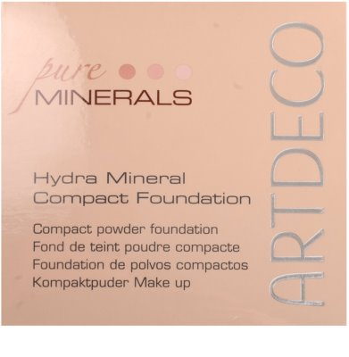 Artdeco Hydra Mineral hidratáló make-up 1