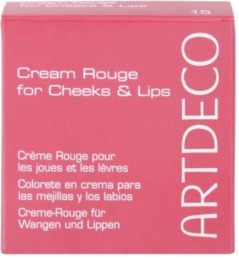 Artdeco Majestic Beauty blush cremoso  nos lábios e maçãs do rosto 3