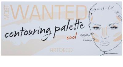 Artdeco Most Wanted контурираща палитра за лице 1