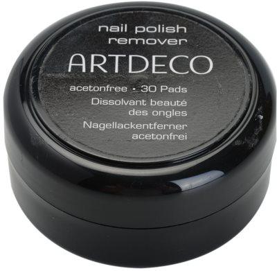 Artdeco Nail Polish Remover Pads zur Nagellackentfernung ohne Aceton