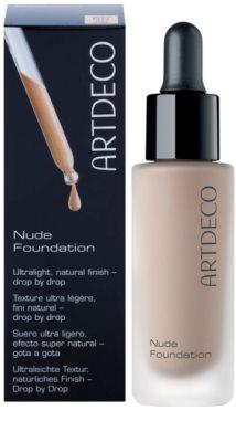 Artdeco Nude Foundation gyengéd make-up csepp formában természetes hatásért 1